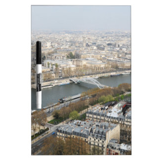 The river Seine in Paris, France Dry Erase Board