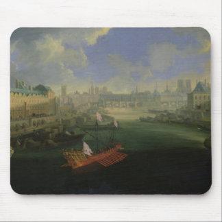 The River Seine Mouse Mat