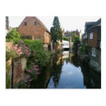 The River Stour at Canterbury ducking stool side Post Cards