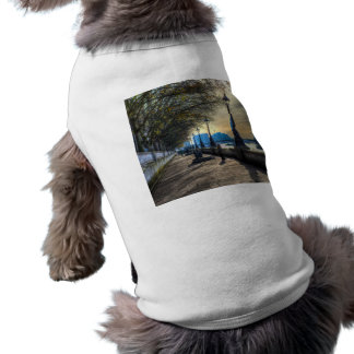 The River Thames Path Sleeveless Dog Shirt