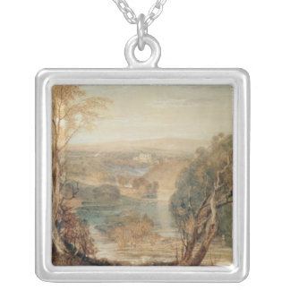 The River Wharfe Silver Plated Necklace