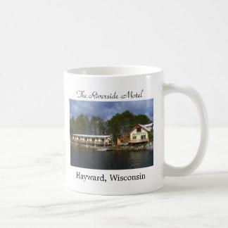 The Riverside Motel Waterfront Coffee Mug