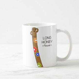 < The ro it is the gu range - (flower) > Long HANI Basic White Mug