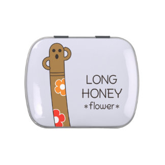 < The ro it is the gu range - (flower) > Long HANI Jelly Belly Candy Tin