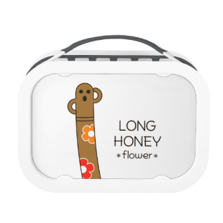 < The ro it is the gu range - (flower) > Long HANI Lunch Boxes