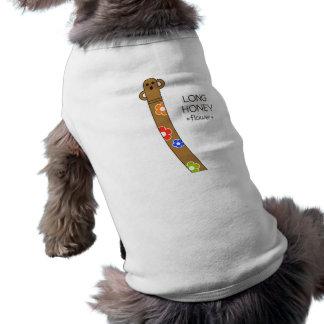 < The ro it is the gu range - (flower) > Long Sleeveless Dog Shirt