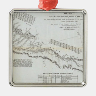 The Road From Missouri to Oregon 3 Christmas Ornament
