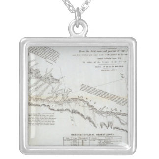 The Road From Missouri to Oregon 3 Silver Plated Necklace