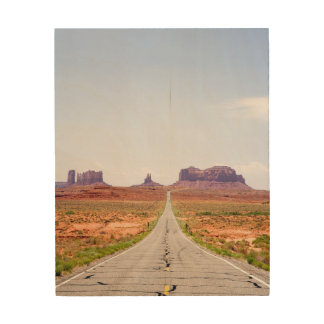 The Road Less Traveled Wood Wall Decor