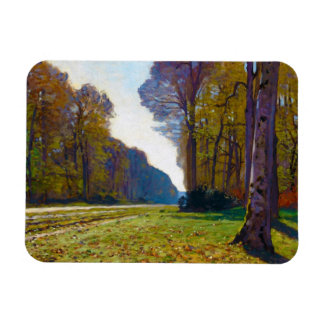 The Road of Chailly Claude Monet cool, old, master Rectangular Photo Magnet