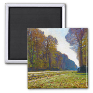 The Road of Chailly Claude Monet cool, old, master Square Magnet