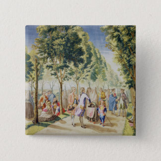 The Road of Delights 15 Cm Square Badge