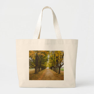 The Road of Life Large Tote Bag
