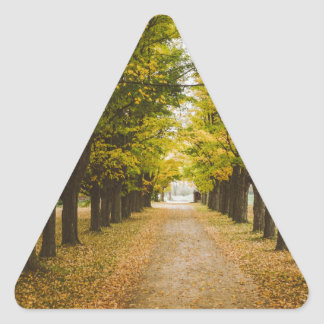The Road of Life Triangle Sticker