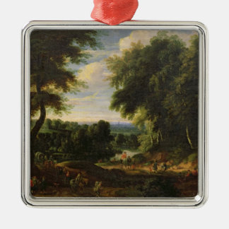 The Road to Boitsfort from Auderghem Christmas Ornament