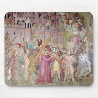 The Road to Calvary, from the Spanish Chapel Mouse Mat