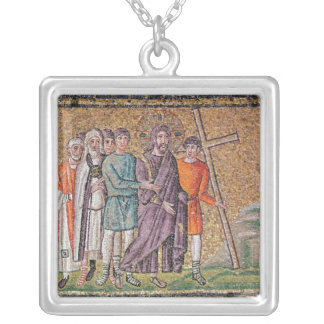 The Road to Calvary Silver Plated Necklace