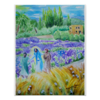 The Road to Emmaus Acrylic Poster