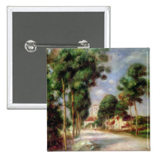 The Road to Essoyes, 1901 15 Cm Square Badge