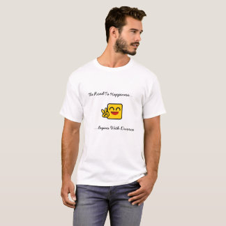 The Road To Happiness Begins With Divorce T-Shirt