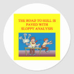 the road to hell sticker