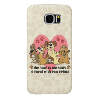 The Road To My Heart Dogs Samsung Galaxy S6 Cases