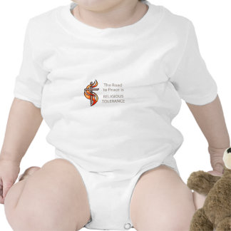 The Road To Peace Is Religious Tolerance Romper