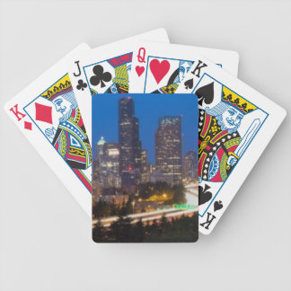 The road to Seattle Bicycle Playing Cards