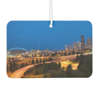 The road to Seattle Car Air Freshener