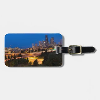 The road to Seattle Luggage Tag