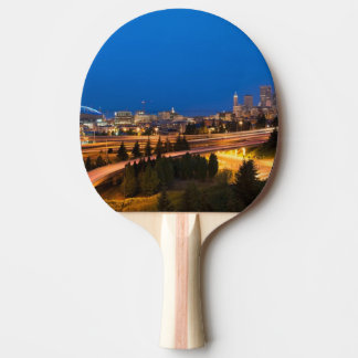 The road to Seattle Ping Pong Paddle