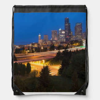 The road to Seattle Cinch Bag