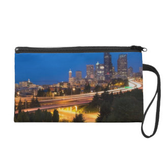 The road to Seattle Wristlet Clutch