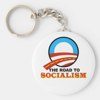 The Road To Socialism Key Chain