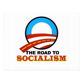 The Road To Socialism Postcard
