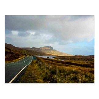 The road to the Old Man of Stoor Postcard