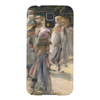 The Road to the school at Edam Galaxy S5 Cover