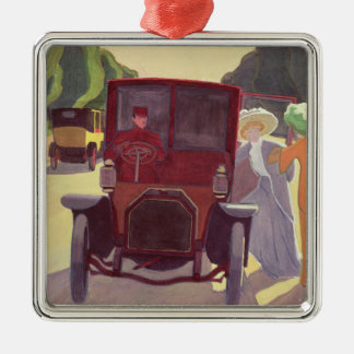 The Road with Acacias, 1908 Christmas Ornament