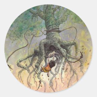The Roaming Oak Classic Round Sticker