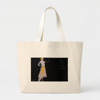 The Roaring 20's Large Tote Bag
