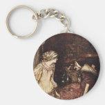 The Robber Bridegroom Basic Round Button Key Ring