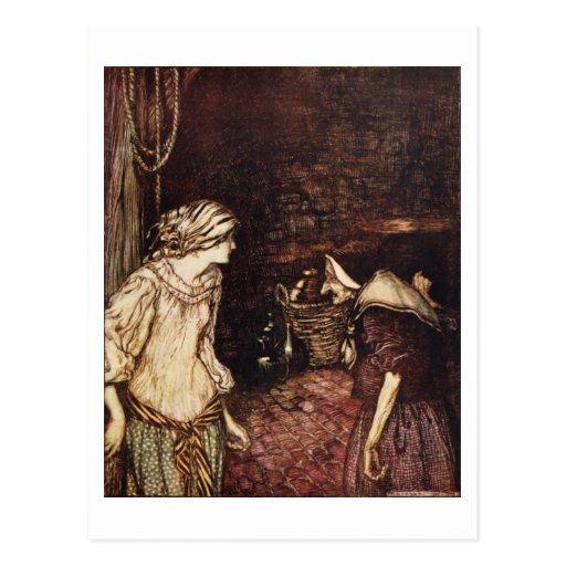 The Robber Bridegroom Postcards