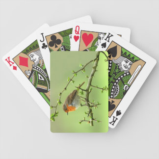 The Robin Bicycle Playing Cards