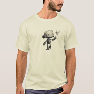 The Robot and the Sparrow T-Shirt