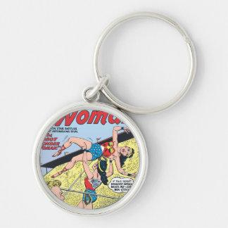 The Robot Wonder Woman Key Ring