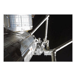 The robotic arm of the Japanese Experiment Modu 2 Photo Print