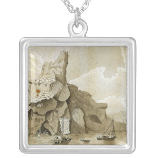 The Rock of Quang-Yin Silver Plated Necklace
