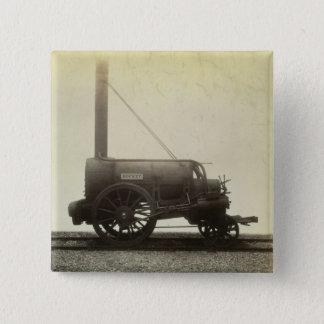 The 'Rocket' designed by George Stephenson (1781-1 15 Cm Square Badge