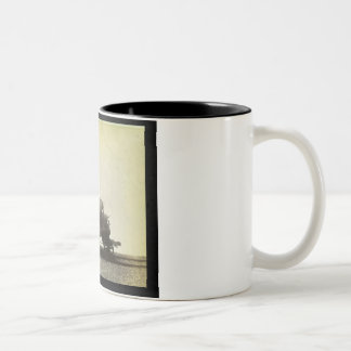 The 'Rocket' designed by George Stephenson (1781-1 Two-Tone Coffee Mug