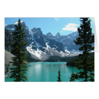The Rockies - Moraine Lake Card